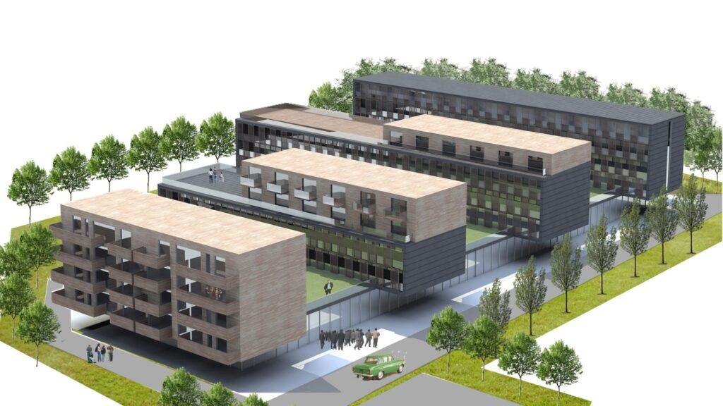 Osiedle mieszkaniowe w Bielsku-Białej 12/2010