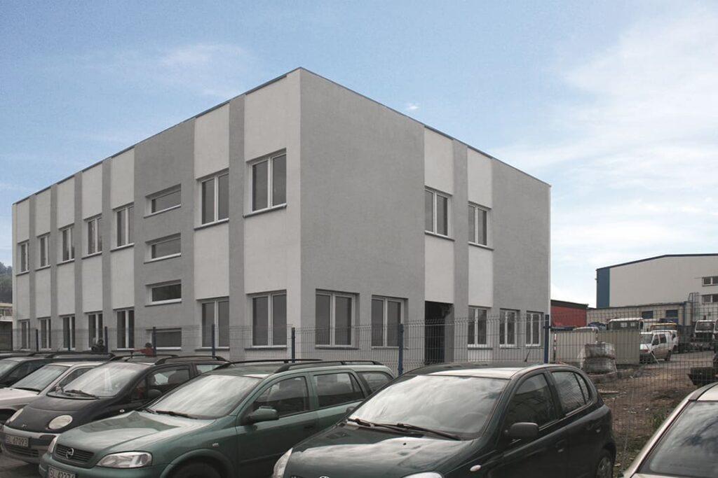Budynek biurowy w Rudzie Śląskiej 03/2010