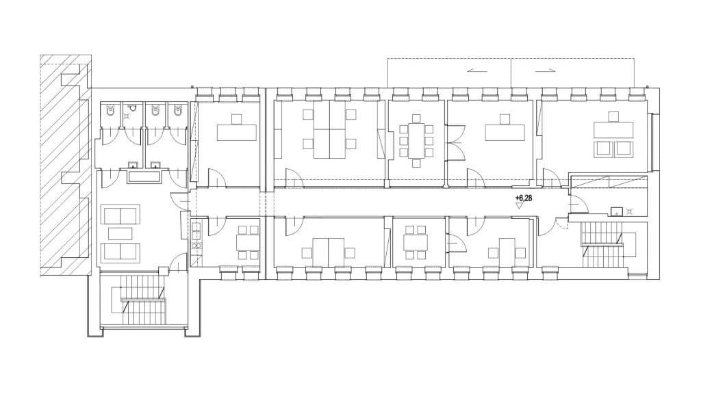 Przebudowa istniejącego budynku biurowego 05/2017