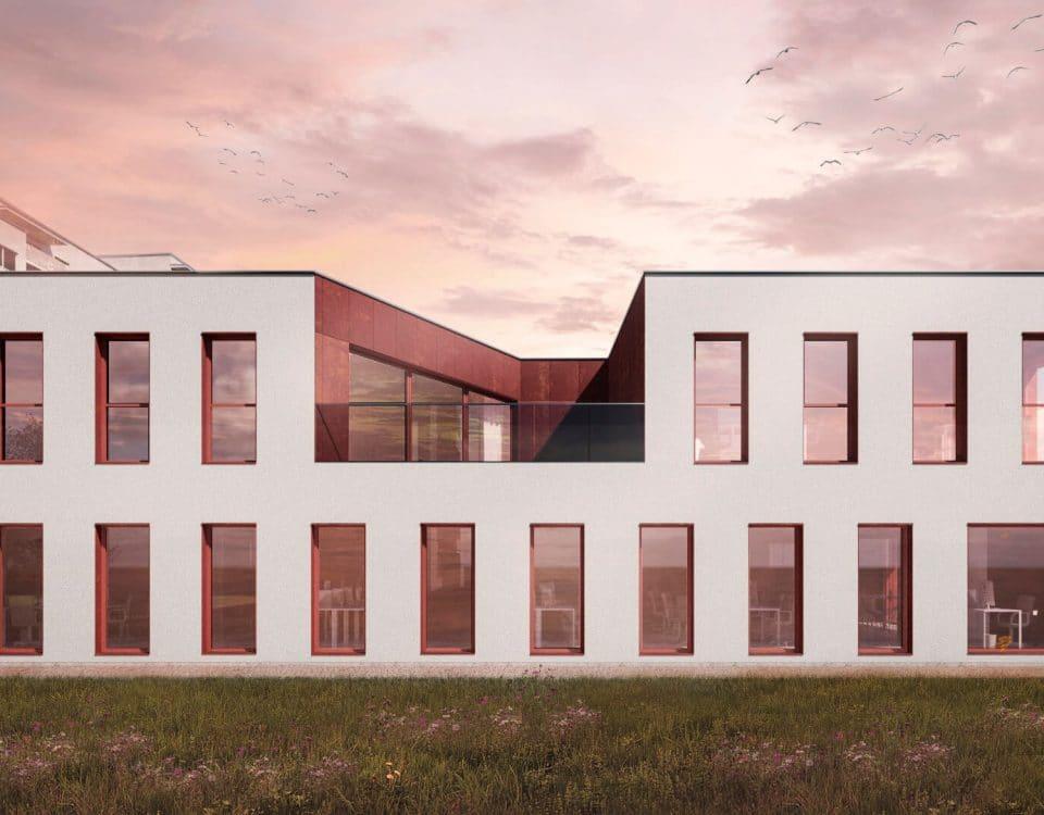 Budynek mieszkalno-usługowy w Katowicach 10/2018