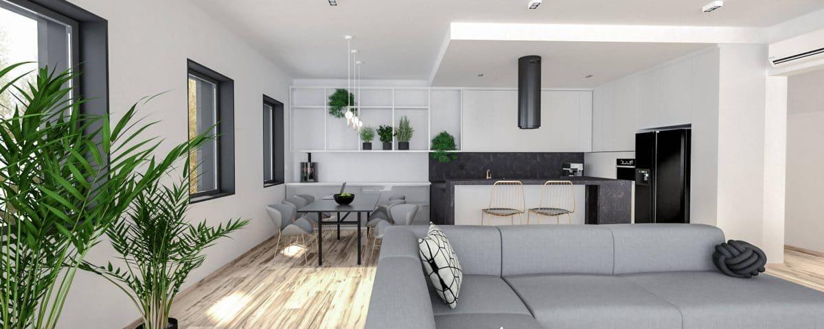 Wnętrza mieszkania w Katowicach 11/2019