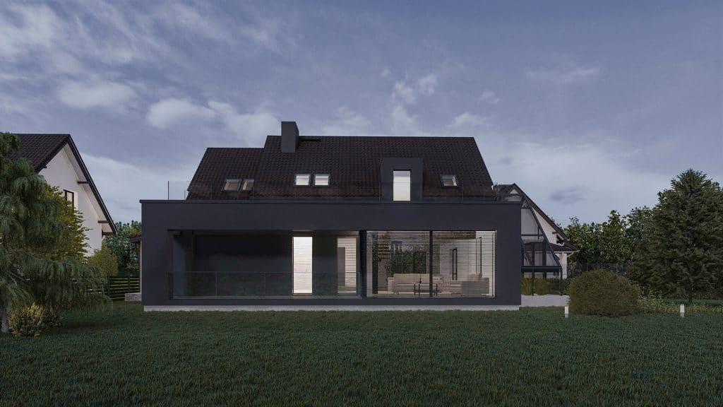 Rozbudowa domu w Mikołowie 03/2020
