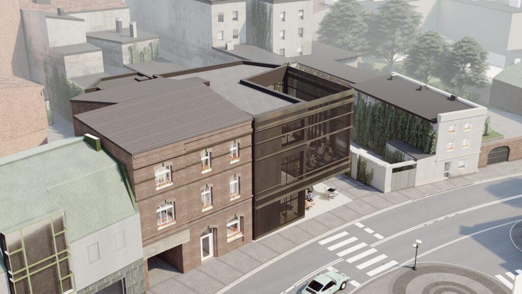 Rozbudowa i przebudowa zabytkowej kamienicy w Mikołowie 09/2020