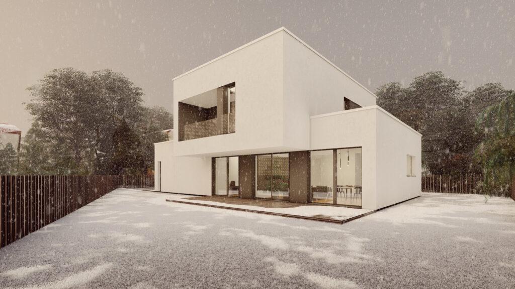 Dom jednorodzinny w Katowicach – Panewnikach 11/2020