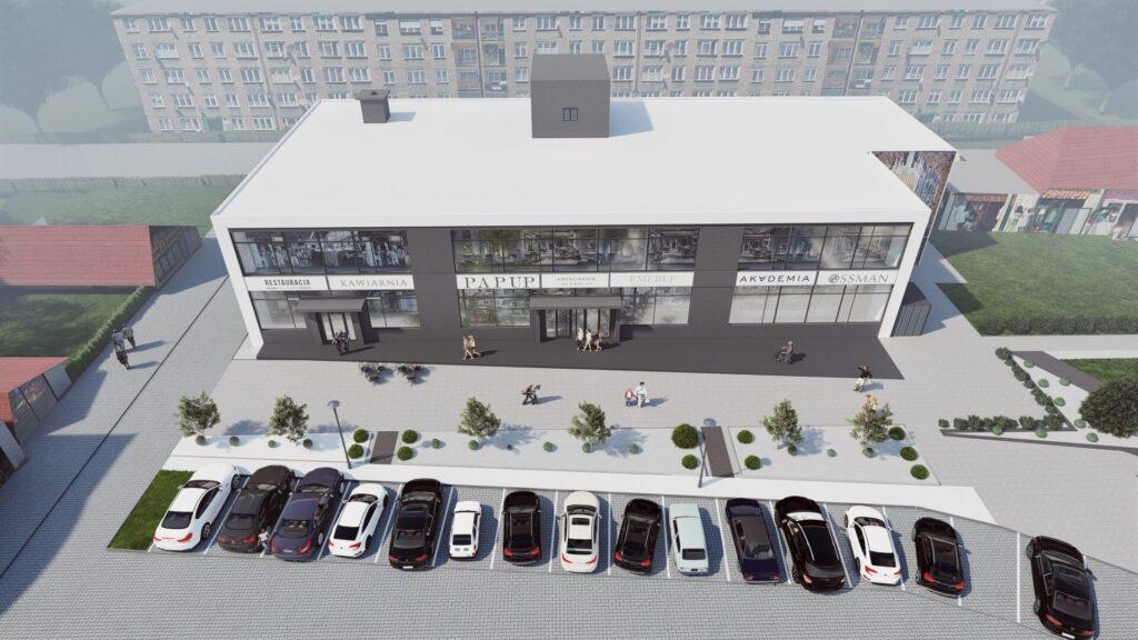 Modernizacja Domu Towarowego w Orzeszu 09/2020