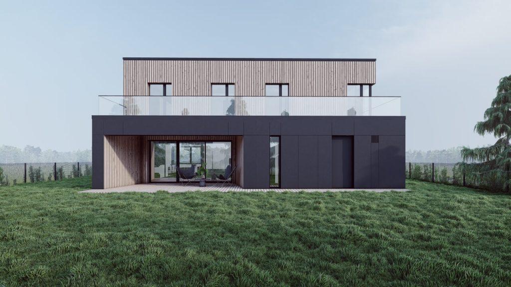 Dom jednorodzinny w Borowej Wsi 01/2021