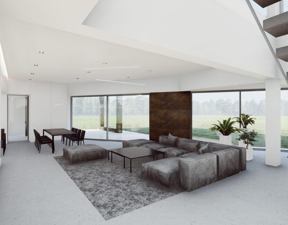 Aranżacja domu piętrowego. Największe wyzwania projektowe