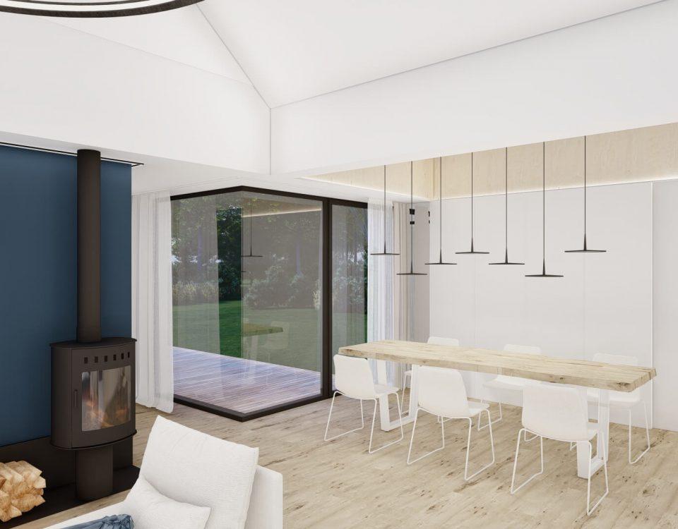 Wnętrza domu w Dąbrowie Górniczej 09/2021